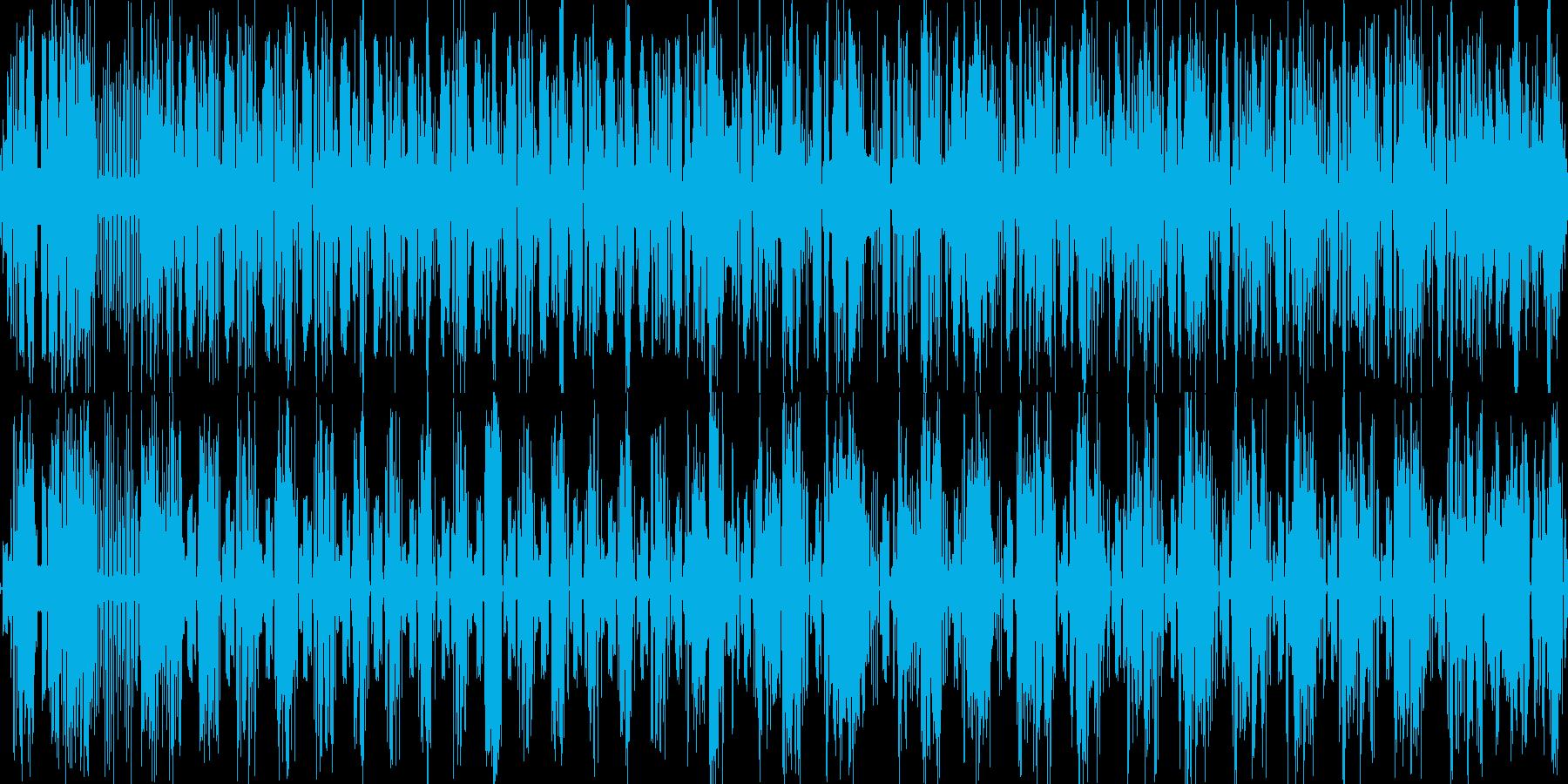 ギュイーン(発射音など)の再生済みの波形