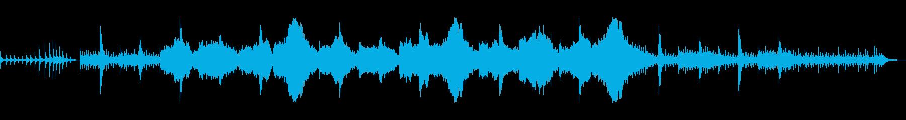 笙+箏+尺八の和風BGMの再生済みの波形
