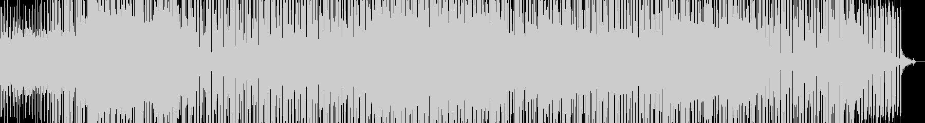 切ないリフが印象的なダンス曲の未再生の波形