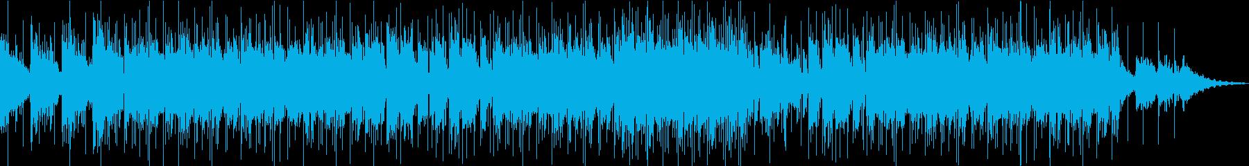 暖かいエレピが印象的なポップスBGMの再生済みの波形