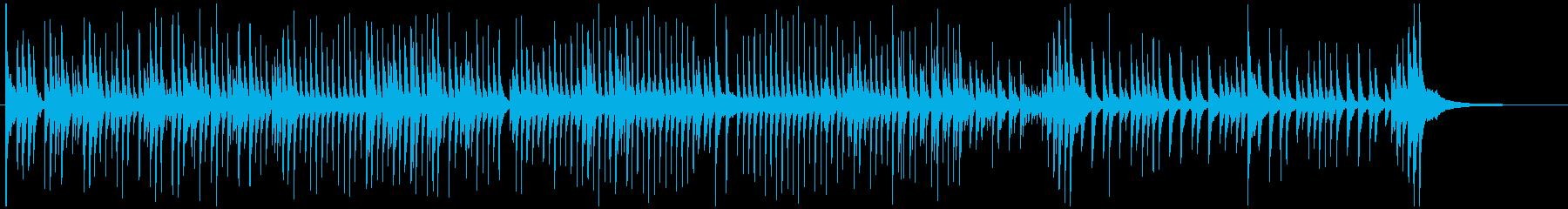 津軽三味線ソロ-J、激しい、疾走、声なしの再生済みの波形