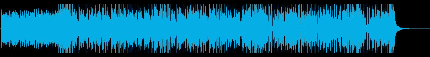 中国的ディスコミュージックの再生済みの波形