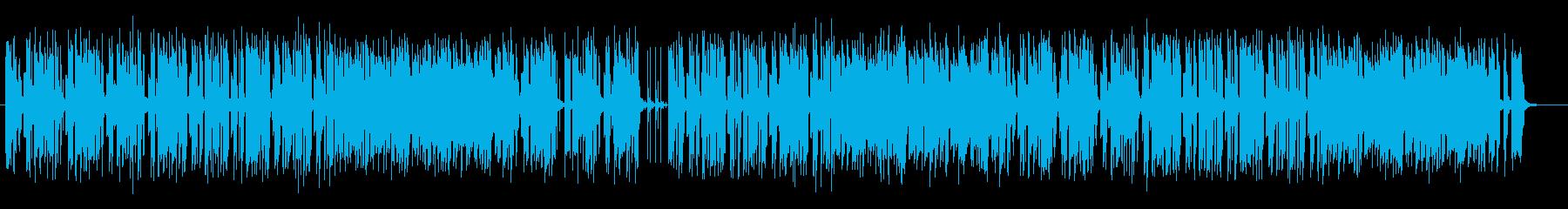 ギターリフレインが木漏れ日を思わせる曲の再生済みの波形