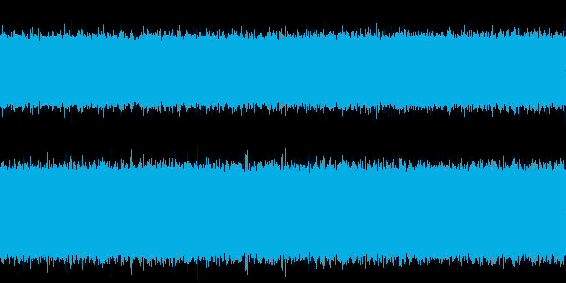掃除機動作中の再生済みの波形