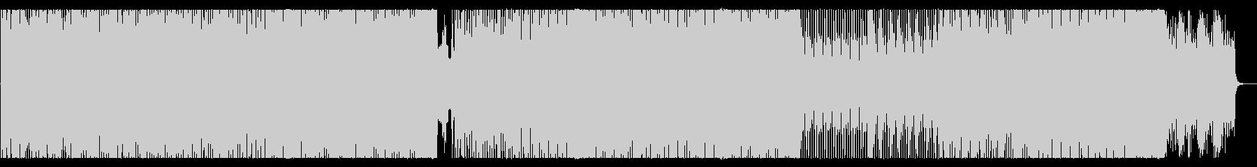 80's風なレトロ・シンセウェーブBGMの未再生の波形