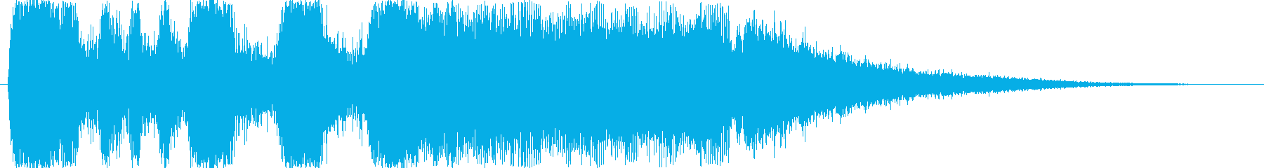 ファンファーレ!の再生済みの波形