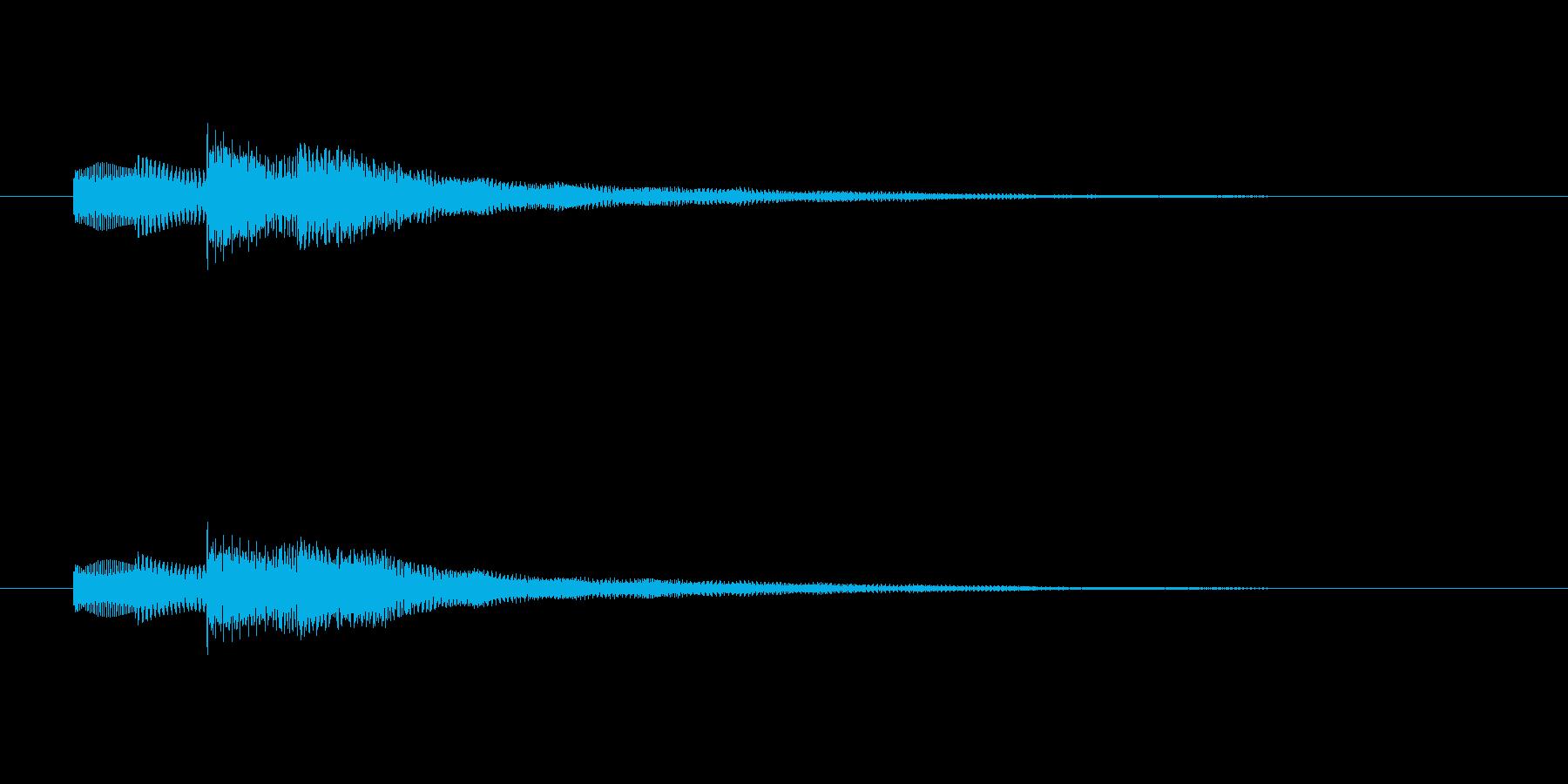 タタタタンターン(しみじみした感情)の再生済みの波形