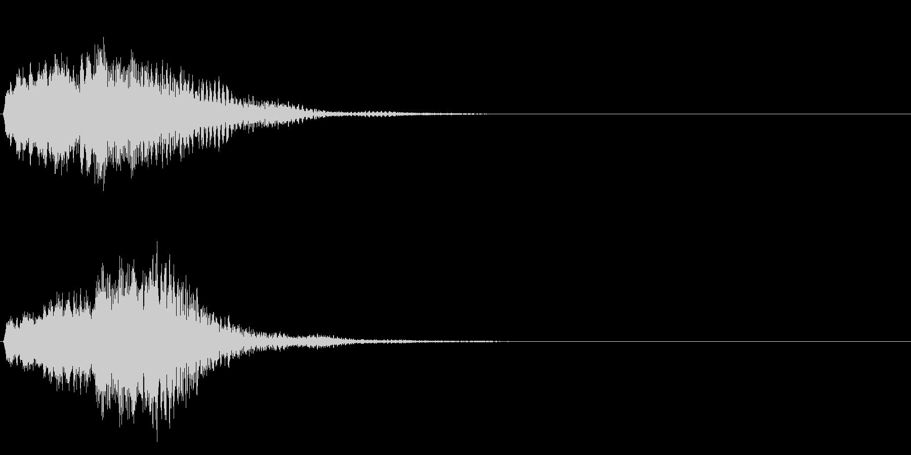 ハープ・下降 _1-1の未再生の波形