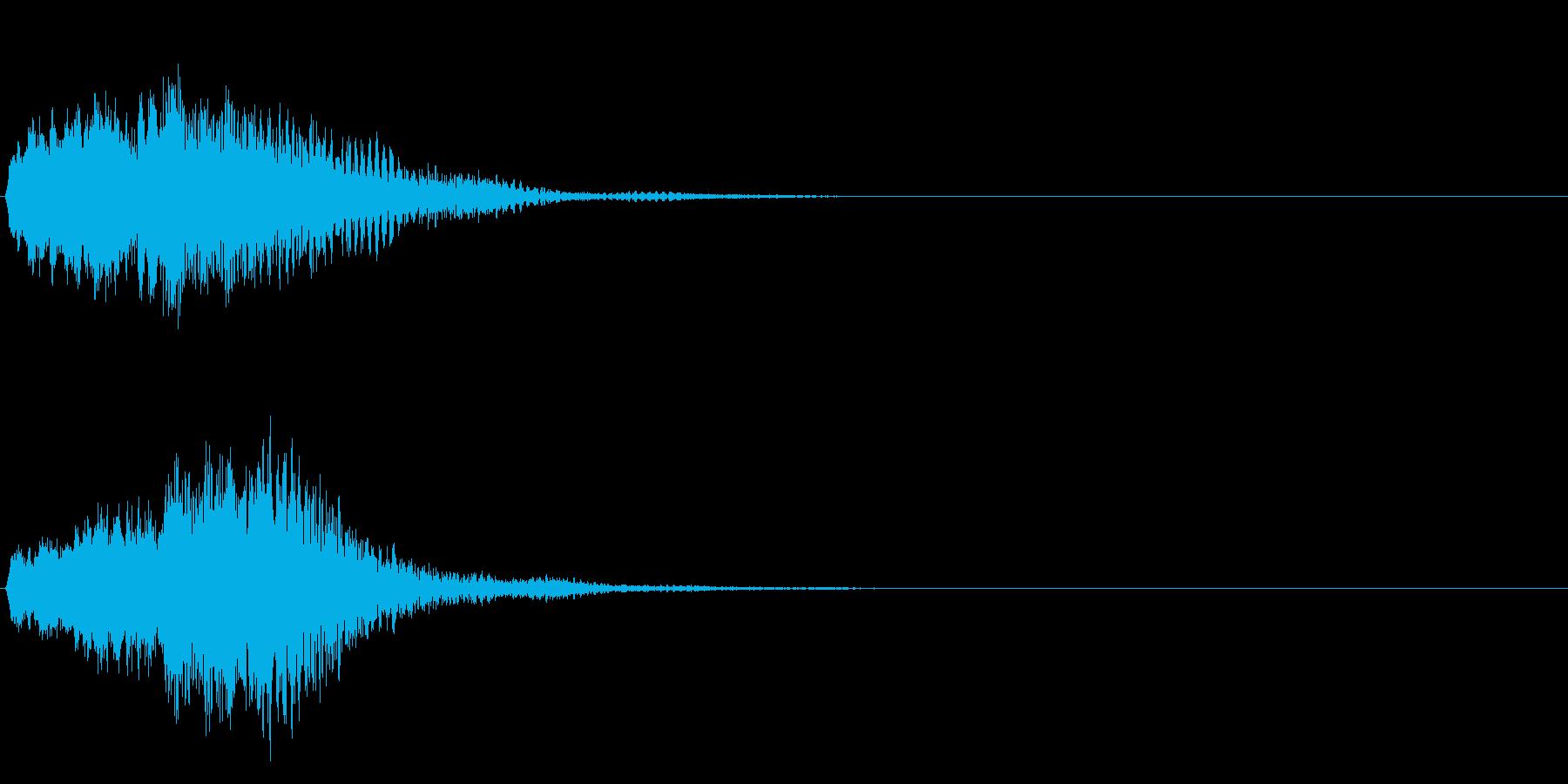 ハープ・下降 _1-1の再生済みの波形