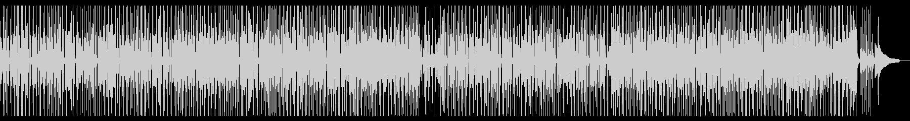 明るいミディアムテンポの三味線曲の未再生の波形