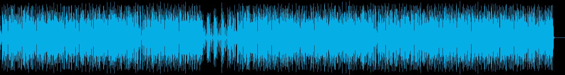 ほのぼの生アコギ&Eギターのポップスの再生済みの波形