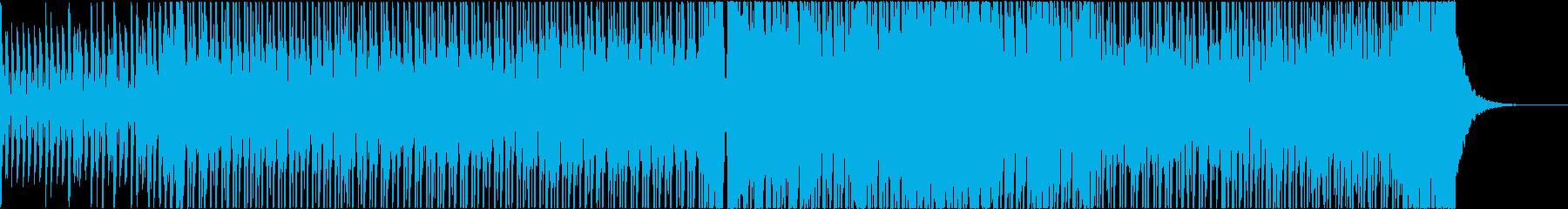 和風 和太鼓 EDM 琴 疾風 スピードの再生済みの波形