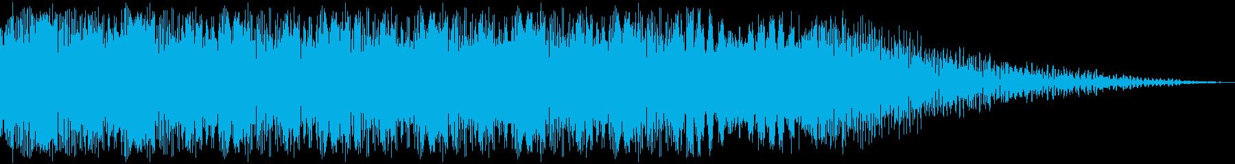 SF銃_14 BURSTの再生済みの波形