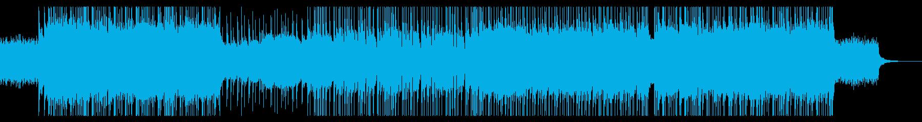 不協和音響くニューメタルの再生済みの波形