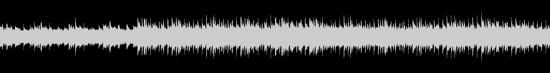 シンセリードによる落ち着いたループ曲の未再生の波形