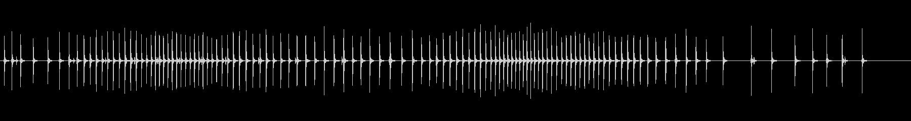 釣りリールが可変速度で巻き取られ、...の未再生の波形