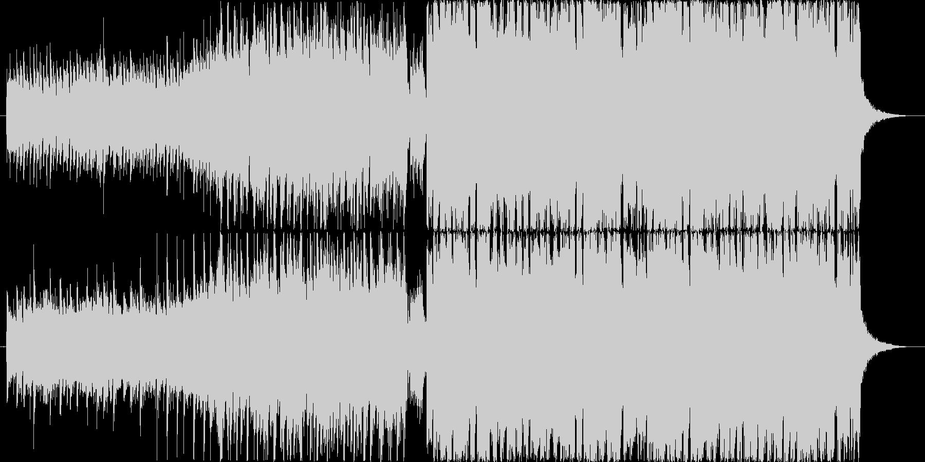 登場シーンや人物紹介で使えるエレクトロの未再生の波形