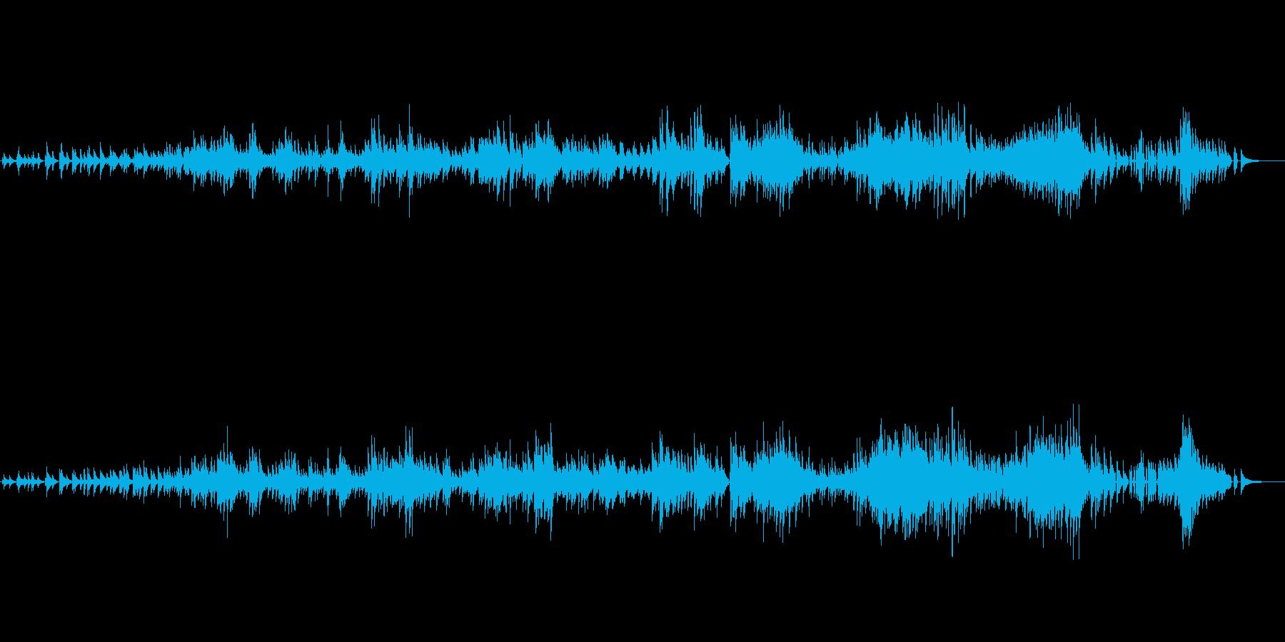 生ピアノソロ・クリスマス曲・ジャズワルツの再生済みの波形