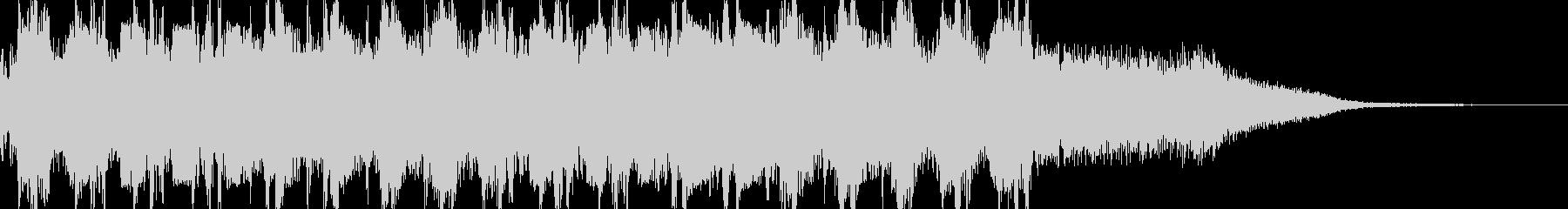 マシンガン(ドドドド)の未再生の波形