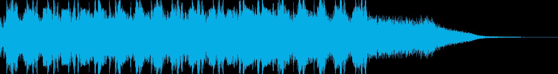マシンガン(ドドドド)の再生済みの波形