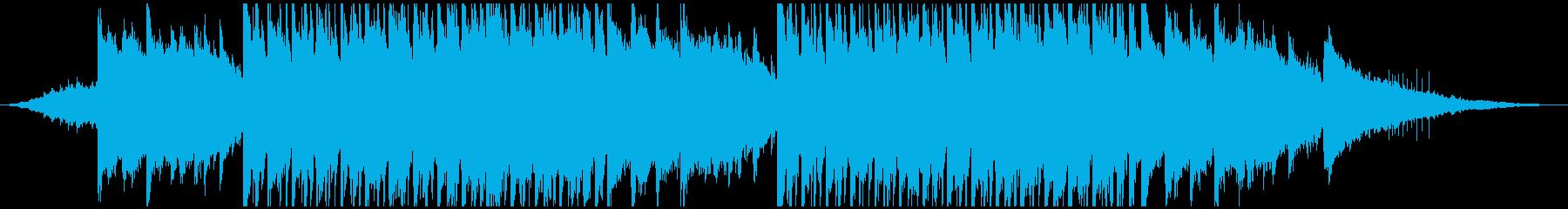ピアノが印象的なポップなボサノバ風の再生済みの波形