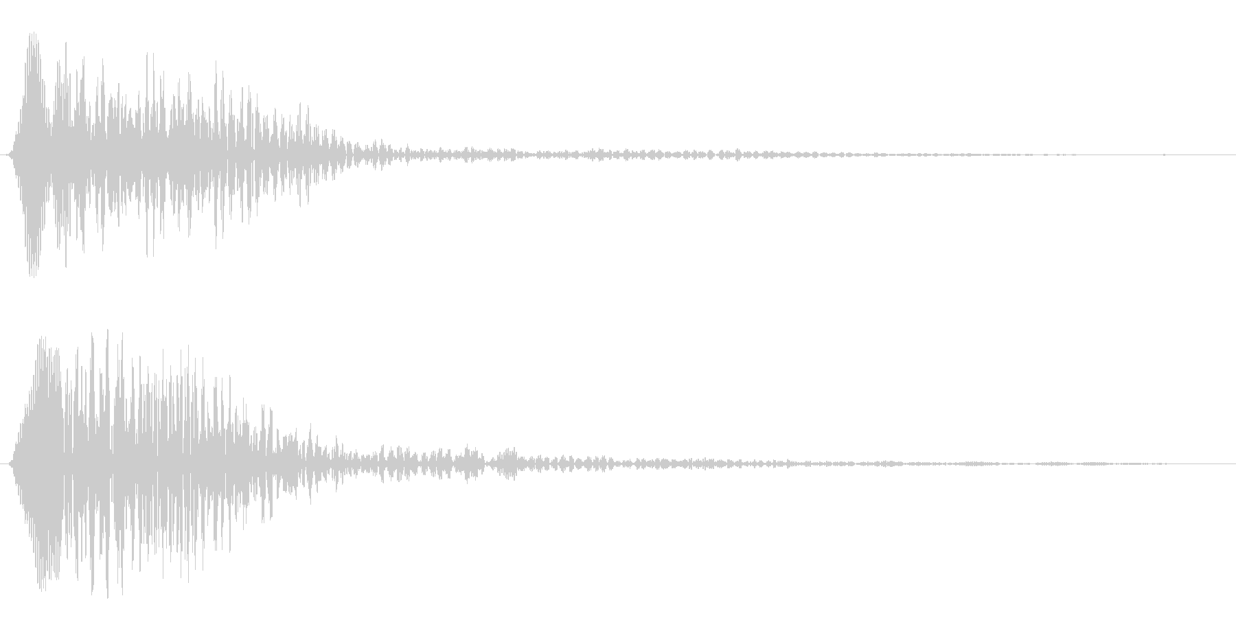 ローリングスタート(落ち着いた女性の声)の未再生の波形