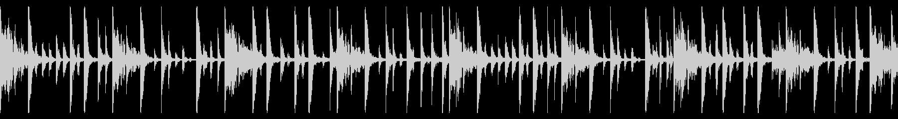 115 BPMの未再生の波形