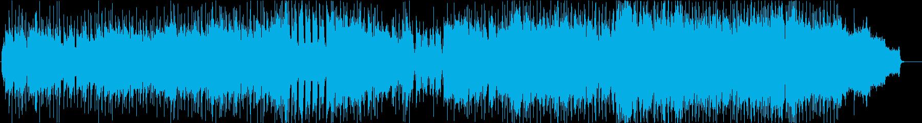 日本的で和風な尺八ソング(シンセリード)の再生済みの波形