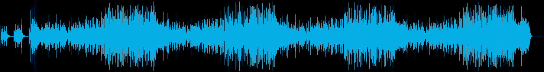VTRやスライド、なれそめトークのBGMの再生済みの波形