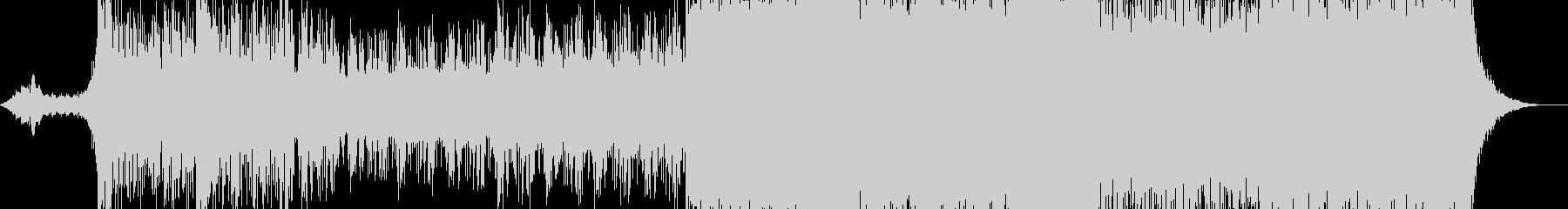 あやしい雰囲気のエスニックアンビエント曲の未再生の波形