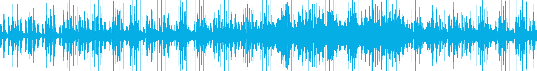 キャッチーなメロディーとリズミカル...の再生済みの波形