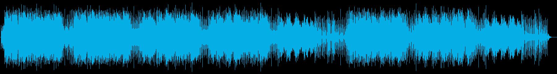 優しく切ないシンセサイザーサウンドの再生済みの波形