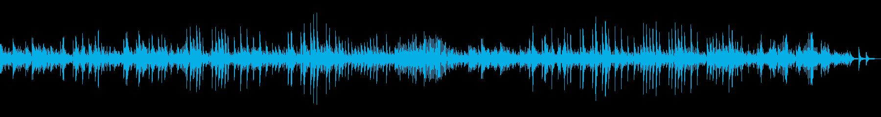 ベートーヴェンの「月光」の再生済みの波形