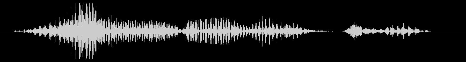 12月の未再生の波形