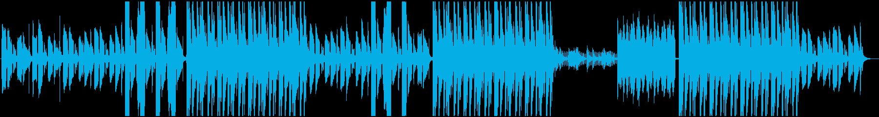 エモーショナルなR&Bの再生済みの波形