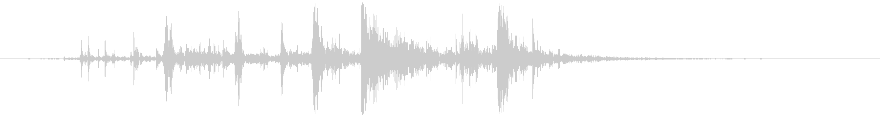 クイッククランキングクランチ;ヴィ...の未再生の波形