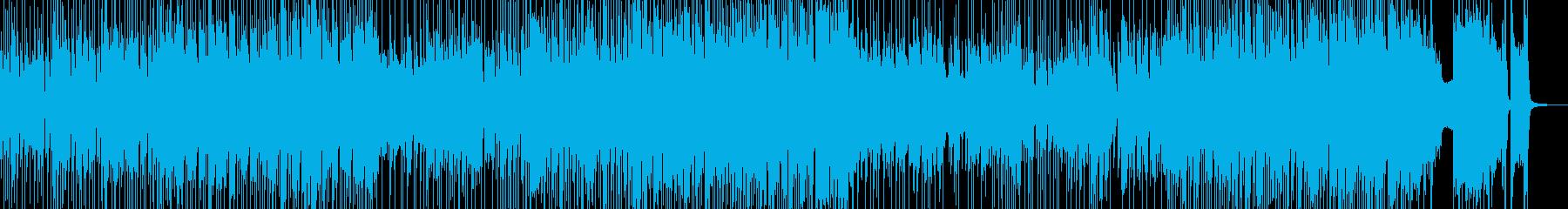 ドライブしたくなるジャズポップ 長尺の再生済みの波形