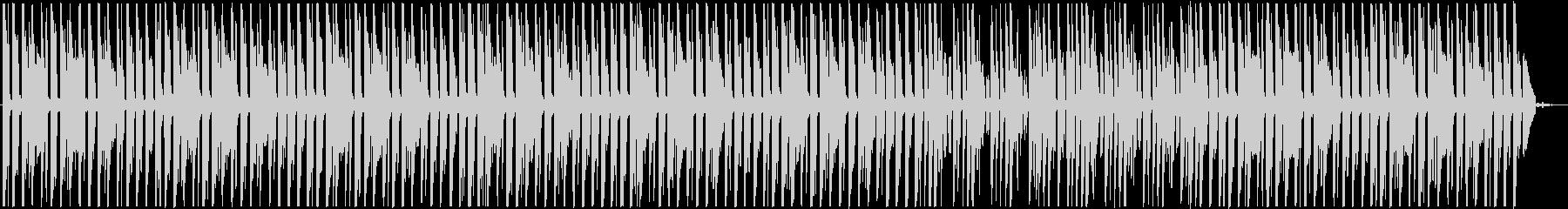 怪しげな雰囲気のBGMの未再生の波形