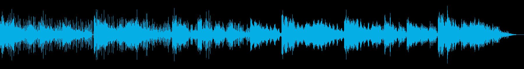 シネマティックでアンビエントなIDMの再生済みの波形