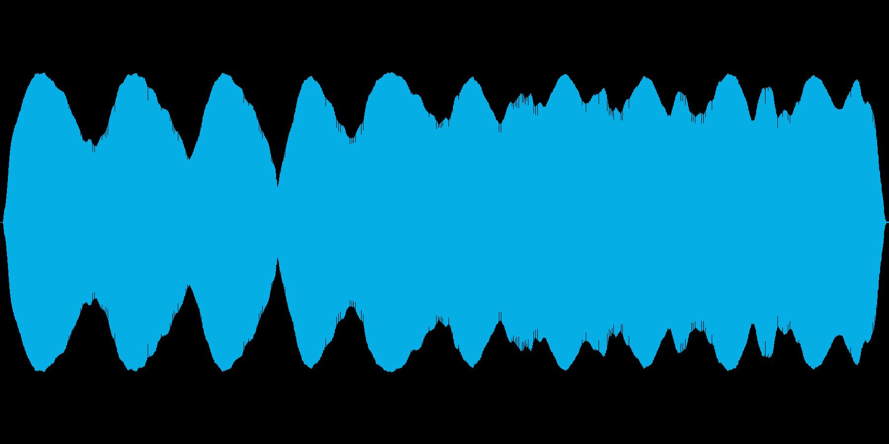 不安低音フオーンフオンフォンフンホーンの再生済みの波形