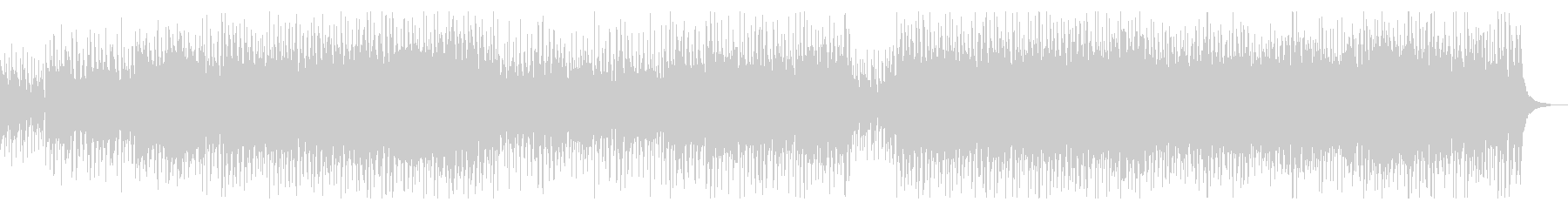 疾走感ポップオーケストラの未再生の波形