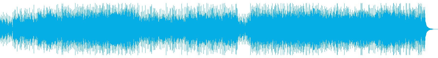 企業VPやCMに疾走感ポップオーケストラの再生済みの波形