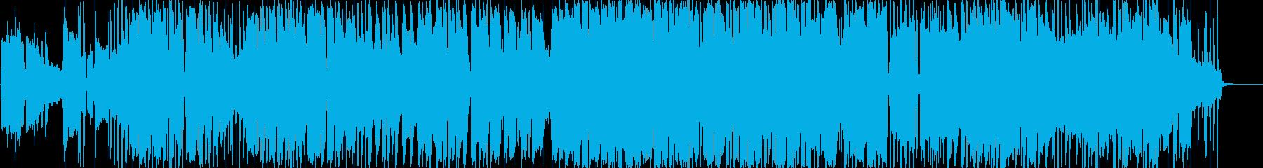 Melancholic folk pop with  harmonica's reproduced waveform