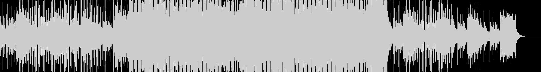 アフリカンな感じのBGMの未再生の波形