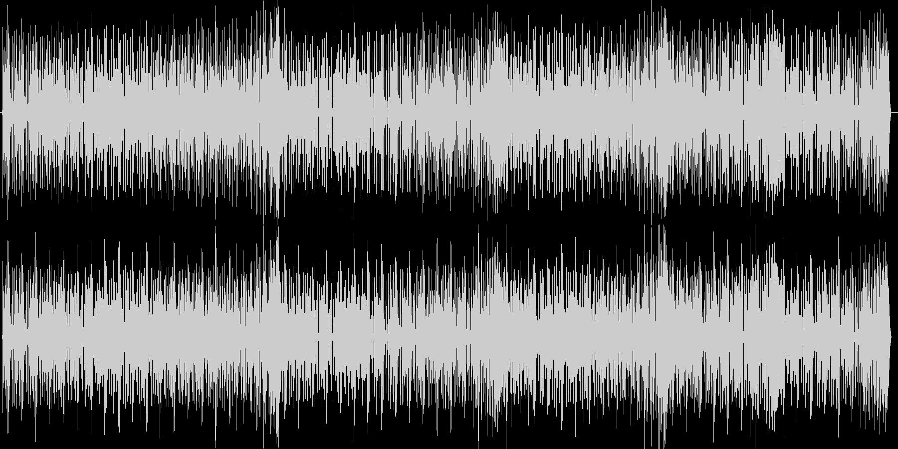 HIPHOPの曲調にメロディーのある曲の未再生の波形