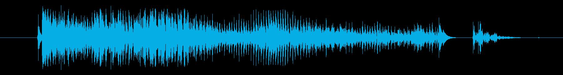 モンスター 窒息ゾンビ02の再生済みの波形