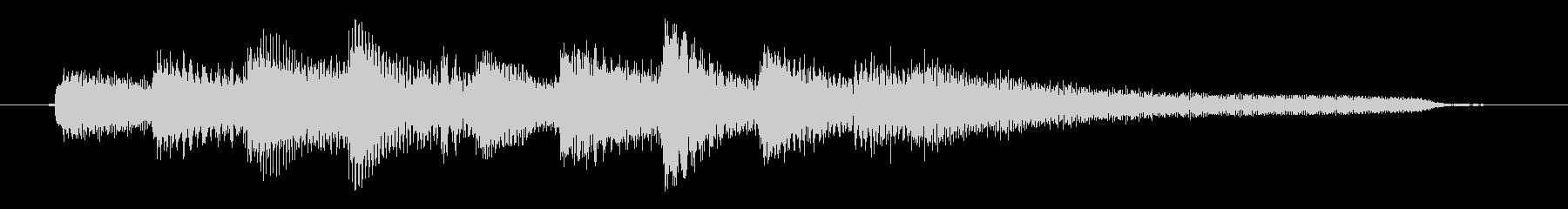 チャプター・場面転換等にピアノジングルBの未再生の波形