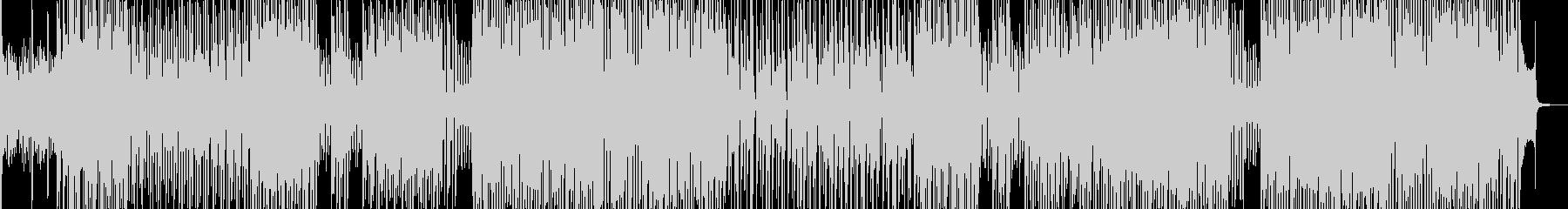 トロピカルな雰囲気に合うテクノ 長尺の未再生の波形