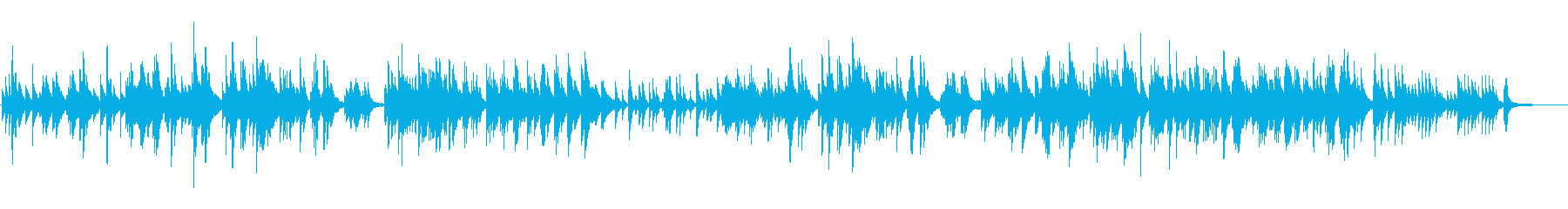 ピアノソロ 切ない 悲しいの再生済みの波形