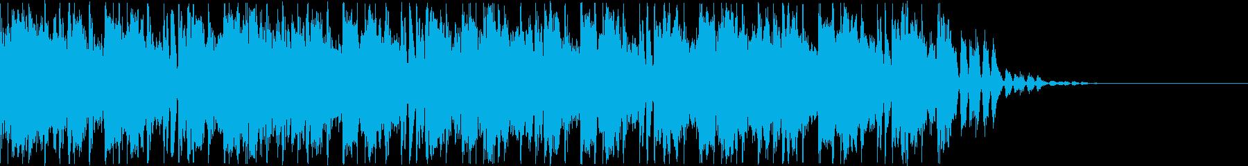 怪しい雰囲気のトランペットのジングルの再生済みの波形
